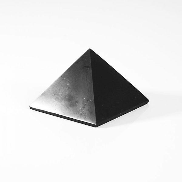 shungiitti pyramidi 50mm kiiltava
